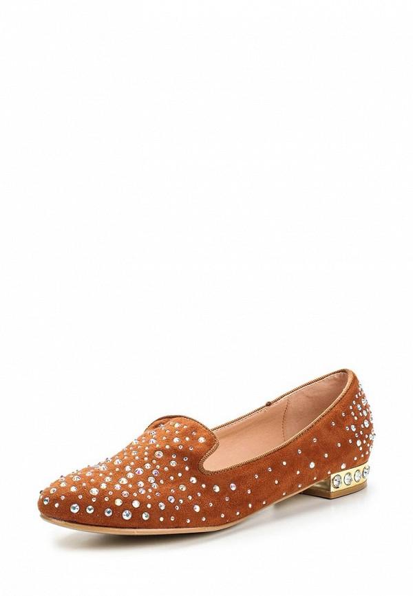 Туфли на плоской подошве Burlesque HRC-1512-14