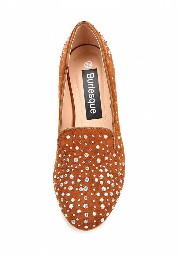 Туфли на плоской подошве Burlesque HRC-1512-14: изображение 4