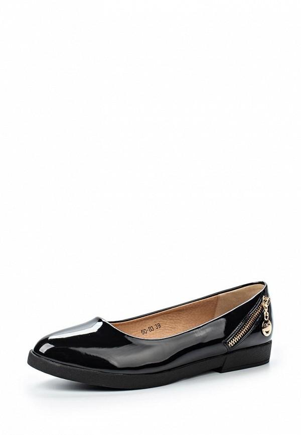 Туфли на плоской подошве Burlesque HRC-15134-19: изображение 1