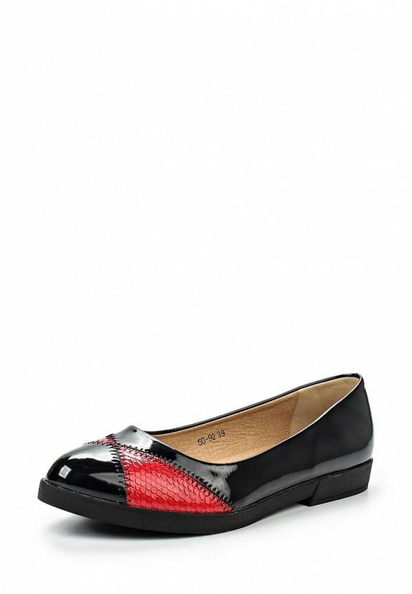 Туфли на плоской подошве Burlesque HRC-15134-22: изображение 1