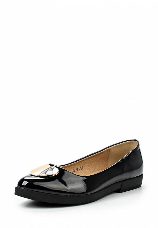 Туфли на плоской подошве Burlesque HRC-15134-44: изображение 1