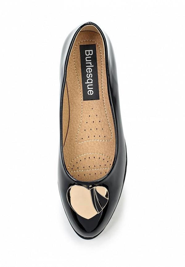 Туфли на плоской подошве Burlesque HRC-15134-44: изображение 4