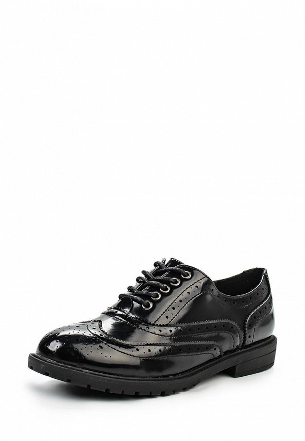 Туфли на плоской подошве Burlesque HRC-15134-46: изображение 1