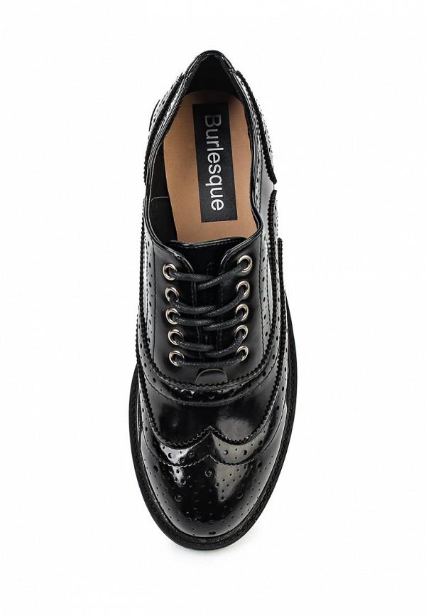 Туфли на плоской подошве Burlesque HRC-15134-46: изображение 4