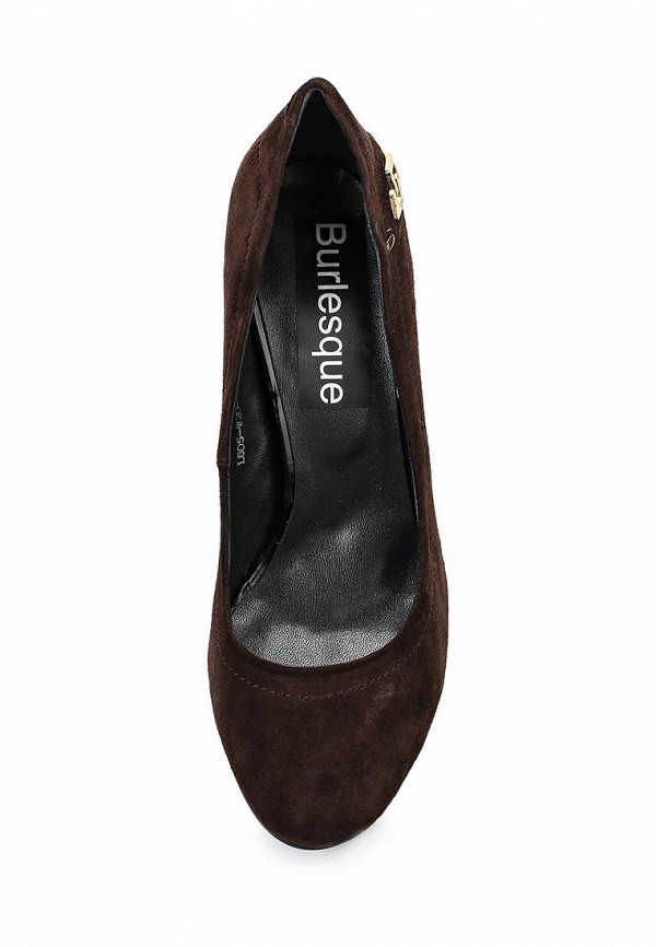 Туфли на каблуке Burlesque B1579: изображение 4