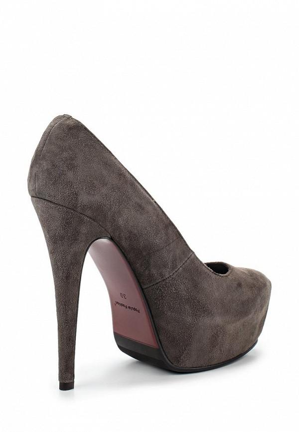Туфли на платформе Burlesque B1610: изображение 2