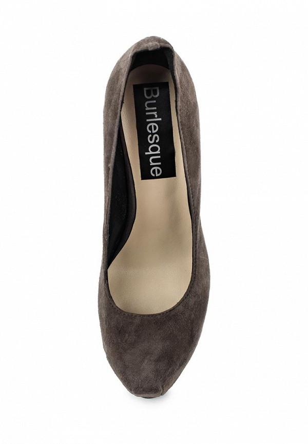 Туфли на платформе Burlesque B1610: изображение 4