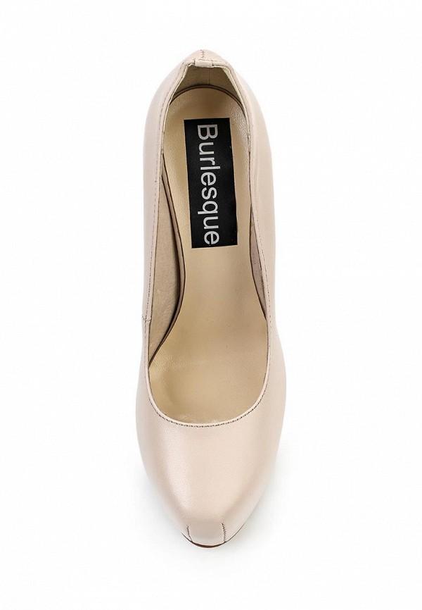 Туфли на платформе Burlesque B1621: изображение 4