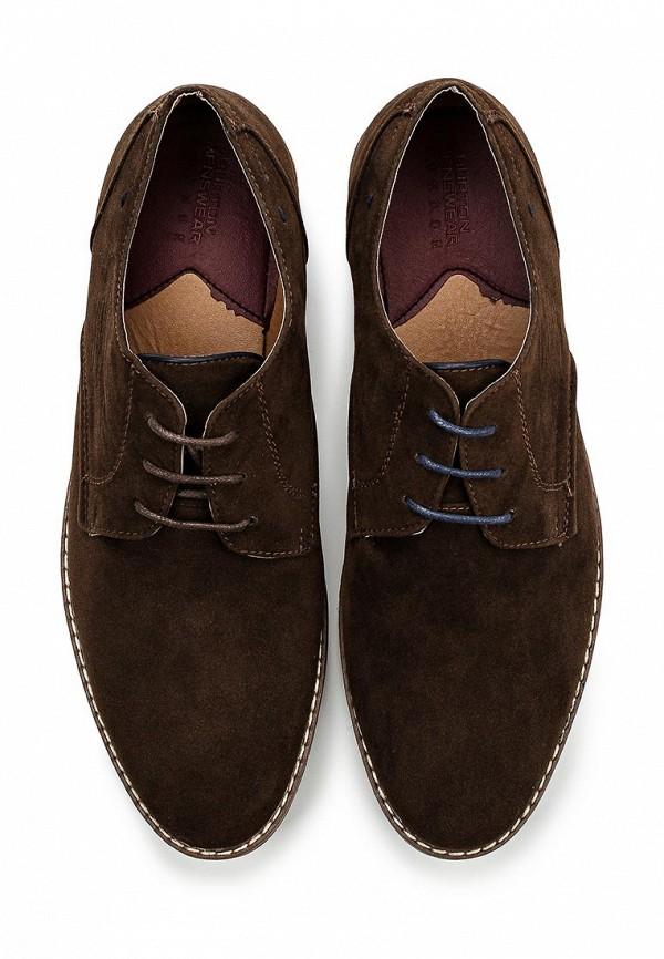 Мужские туфли Burton Menswear London 90C01GBRN: изображение 4