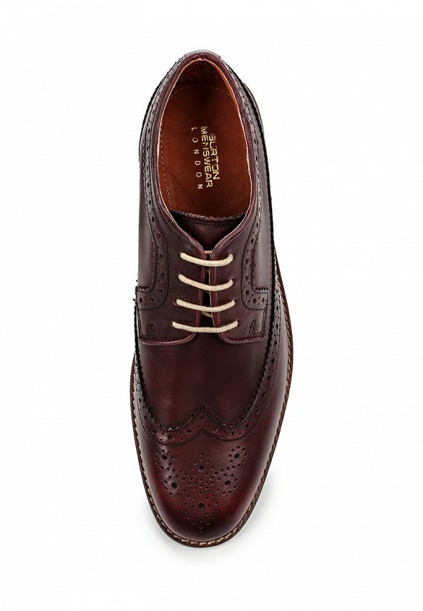 Мужские туфли Burton Menswear London 90C27GRED: изображение 4