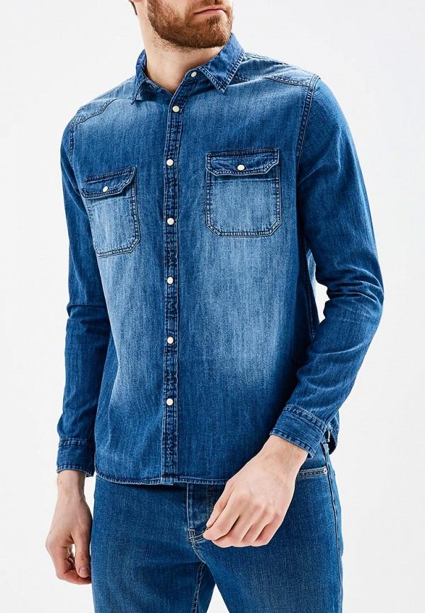 Рубашка джинсовая Burton Menswear London Burton Menswear London BU014EMAWHV9 bu bu 9