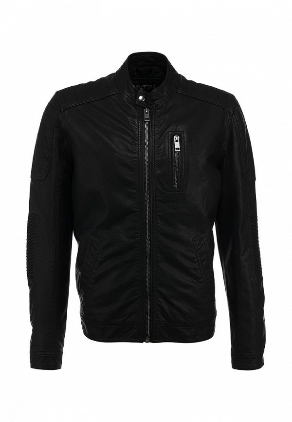 Кожаная куртка Burton Menswear London 06M03FBLK: изображение 1