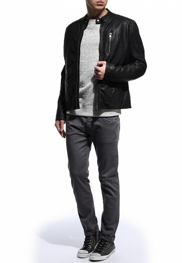 Кожаная куртка Burton Menswear London 06M03FBLK: изображение 3