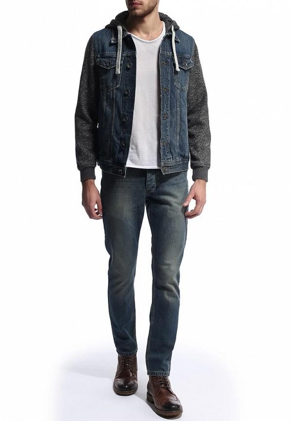Зауженные джинсы Burton Menswear London 12A09FBLU: изображение 4