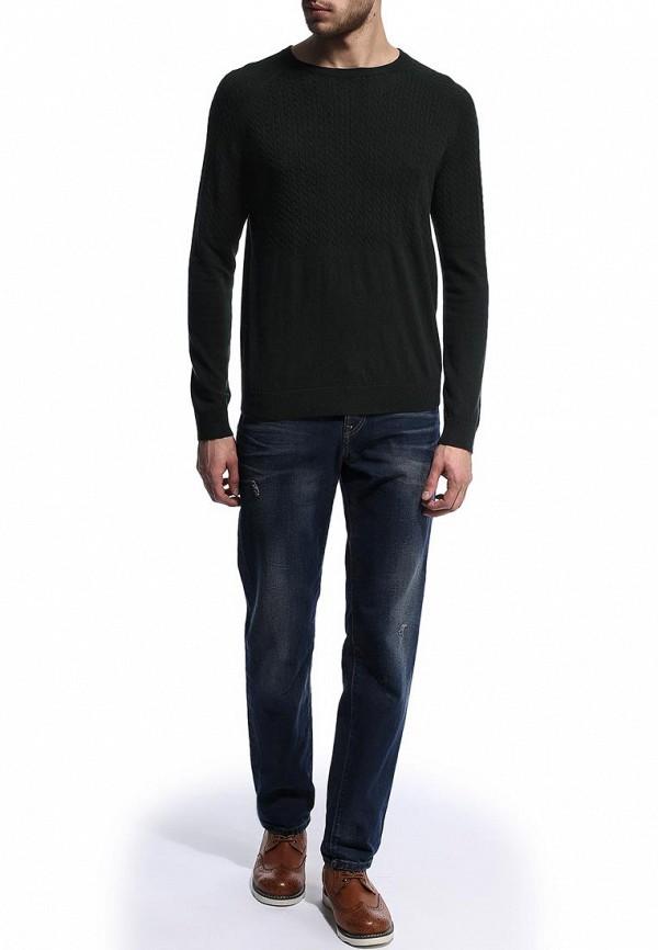 Мужские прямые джинсы Burton Menswear London 12T03FBLU: изображение 3