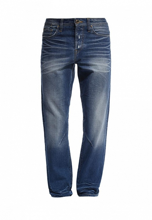 Мужские прямые джинсы Burton Menswear London 12T04FBLU: изображение 1