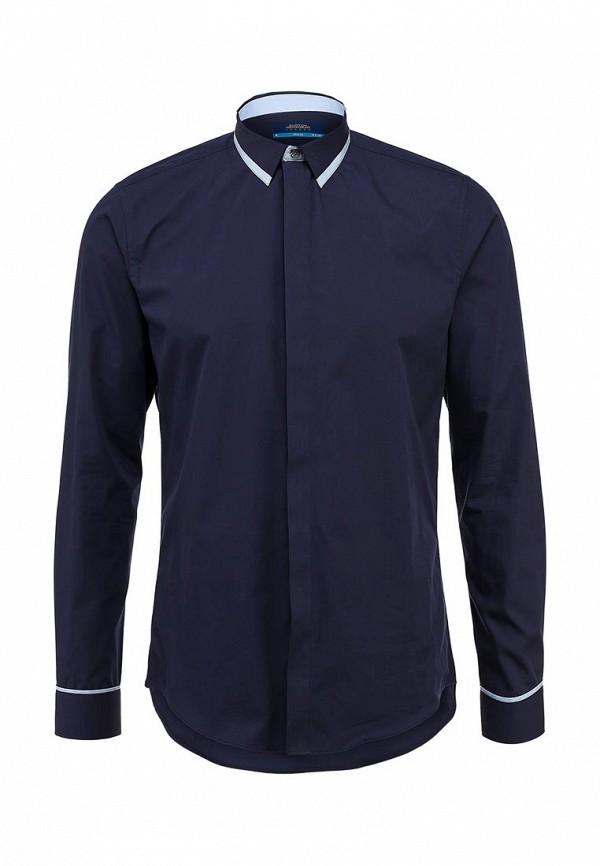Рубашка с длинным рукавом Burton Menswear London 19B30EBLU: изображение 1