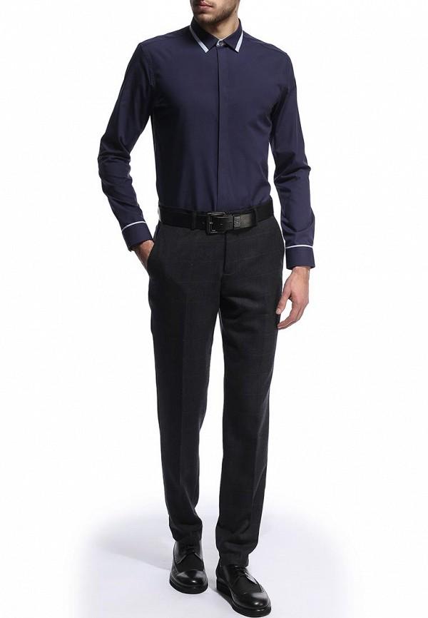 Рубашка с длинным рукавом Burton Menswear London 19B30EBLU: изображение 3
