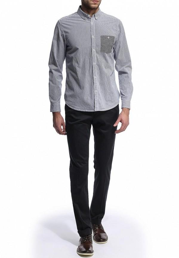 Рубашка с длинным рукавом Burton Menswear London 22C03FBLU: изображение 4