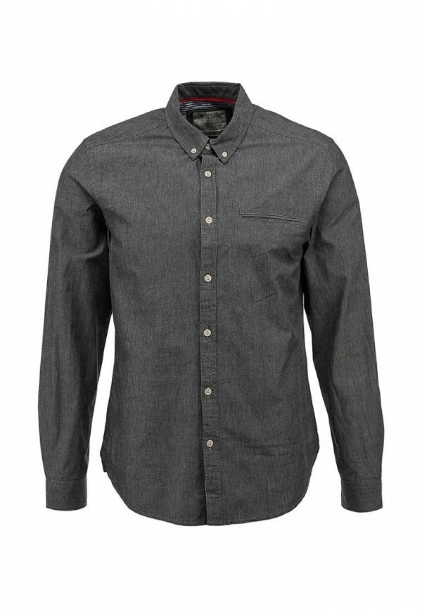 Рубашка с длинным рукавом Burton Menswear London 22C03FGRY: изображение 1