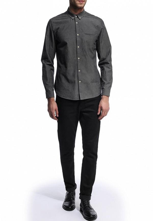 Рубашка с длинным рукавом Burton Menswear London 22C03FGRY: изображение 3