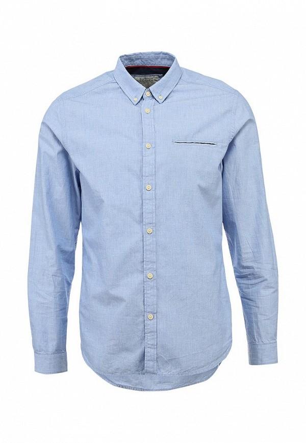 Рубашка с длинным рукавом Burton Menswear London 22C05FBLU: изображение 1