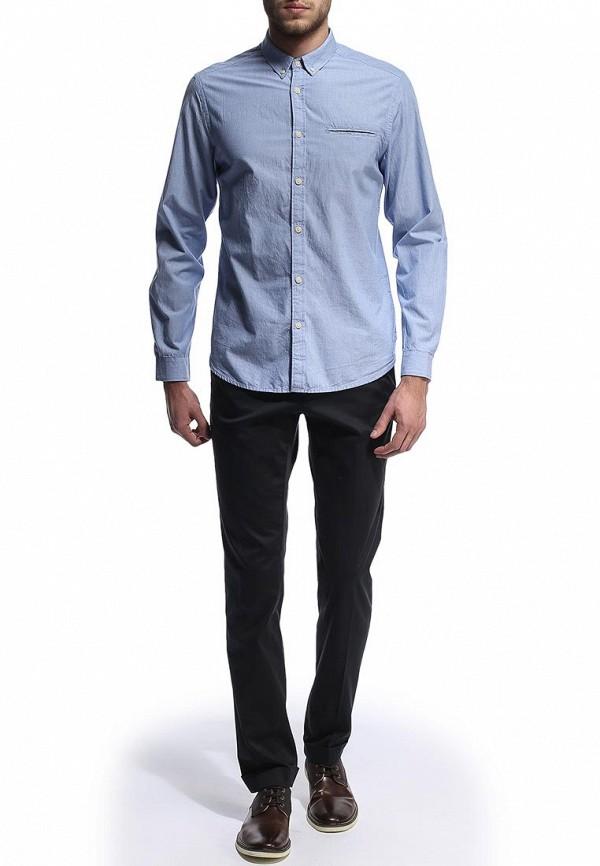 Рубашка с длинным рукавом Burton Menswear London 22C05FBLU: изображение 3
