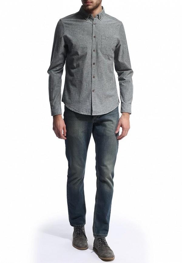 Рубашка с длинным рукавом Burton Menswear London 22O03FGRN: изображение 3