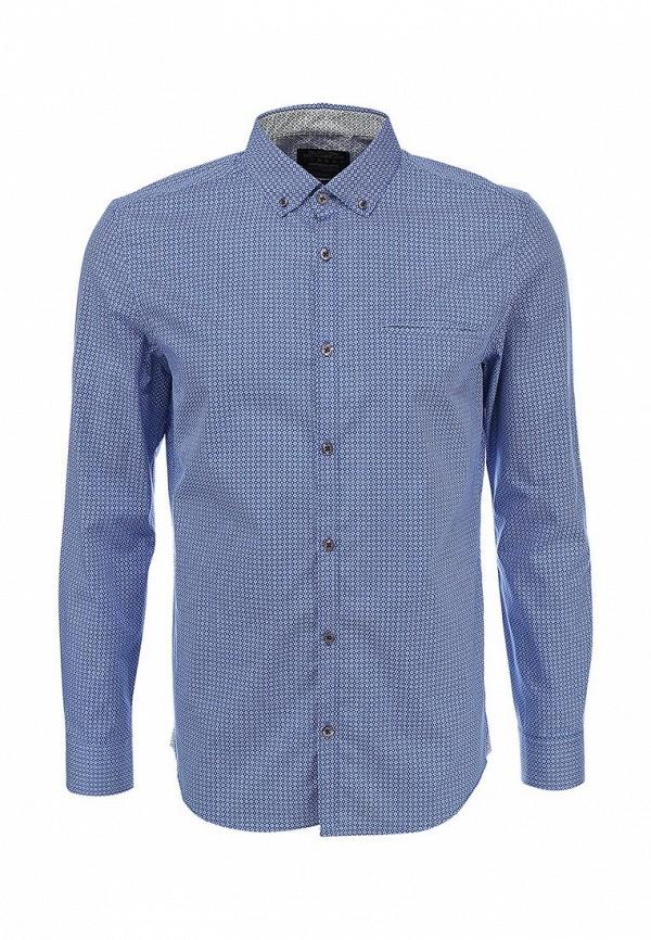 Рубашка с длинным рукавом Burton Menswear London 22P07FBLU: изображение 1
