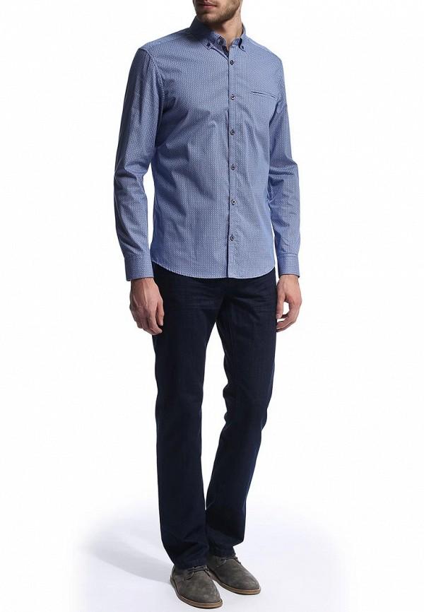 Рубашка с длинным рукавом Burton Menswear London 22P07FBLU: изображение 4