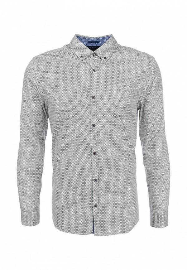 Рубашка с длинным рукавом Burton Menswear London 22P07FGRN: изображение 1