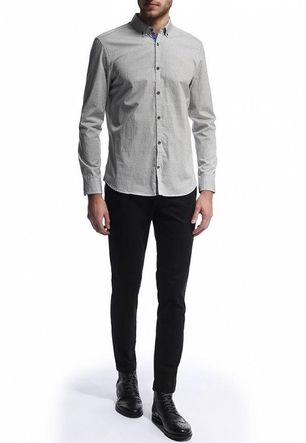 Рубашка с длинным рукавом Burton Menswear London 22P07FGRN: изображение 3