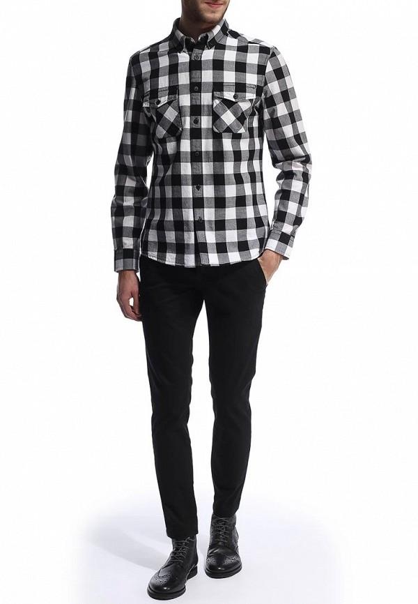 Рубашка с длинным рукавом Burton Menswear London 22S05FBLK: изображение 3