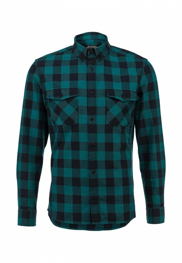 Рубашка с длинным рукавом Burton Menswear London 22S06FGRN: изображение 1