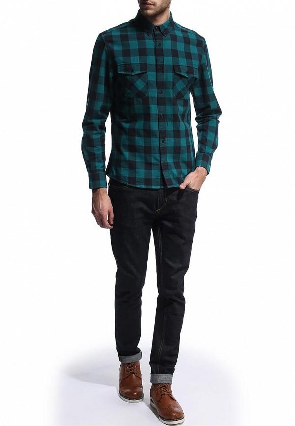 Рубашка с длинным рукавом Burton Menswear London 22S06FGRN: изображение 3