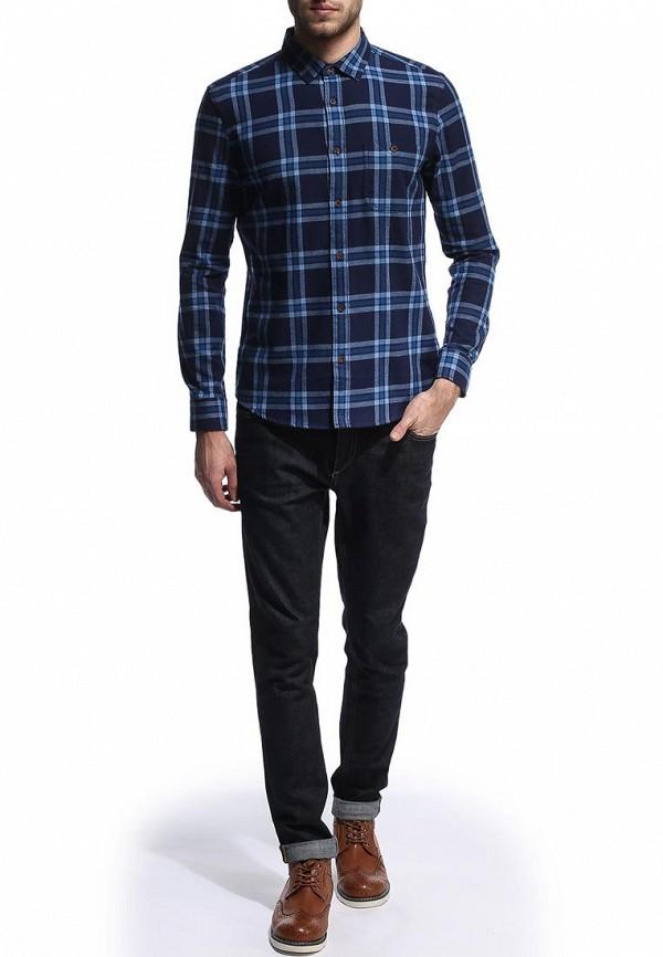 Рубашка с длинным рукавом Burton Menswear London 22S09FBLU: изображение 3