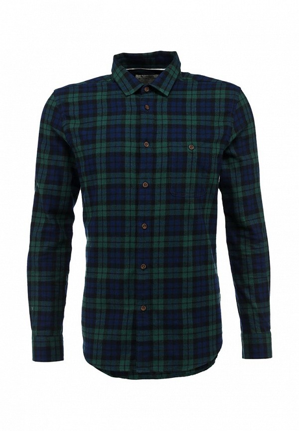 Рубашка с длинным рукавом Burton Menswear London 22S09FGRN: изображение 1