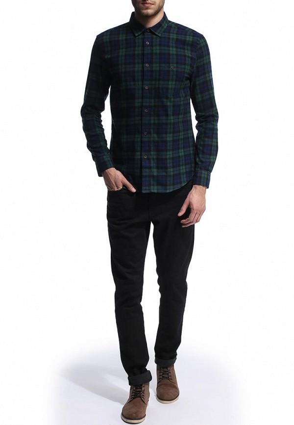 Рубашка с длинным рукавом Burton Menswear London 22S09FGRN: изображение 3