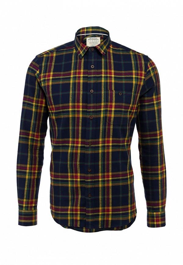 Рубашка с длинным рукавом Burton Menswear London 22S10FBLU: изображение 1