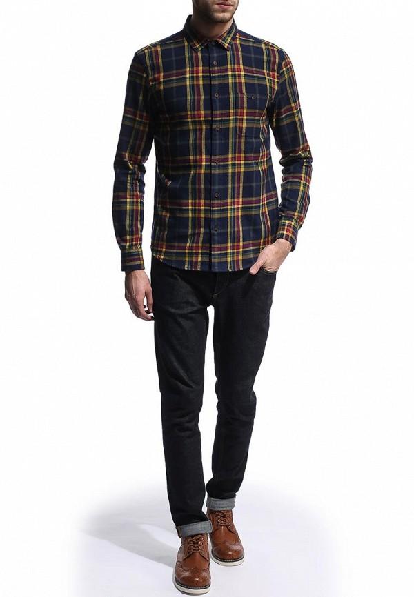 Рубашка с длинным рукавом Burton Menswear London 22S10FBLU: изображение 3