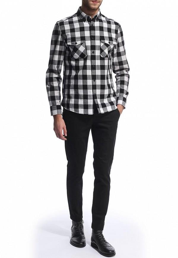 Мужские повседневные брюки Burton Menswear London 23C01FBLK: изображение 3