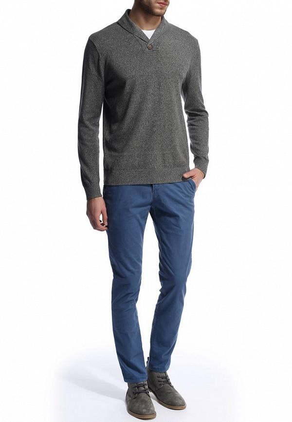 Мужские повседневные брюки Burton Menswear London 23C03FBLU: изображение 4