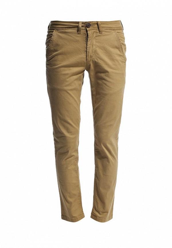 Мужские повседневные брюки Burton Menswear London 23C04FBRN: изображение 1