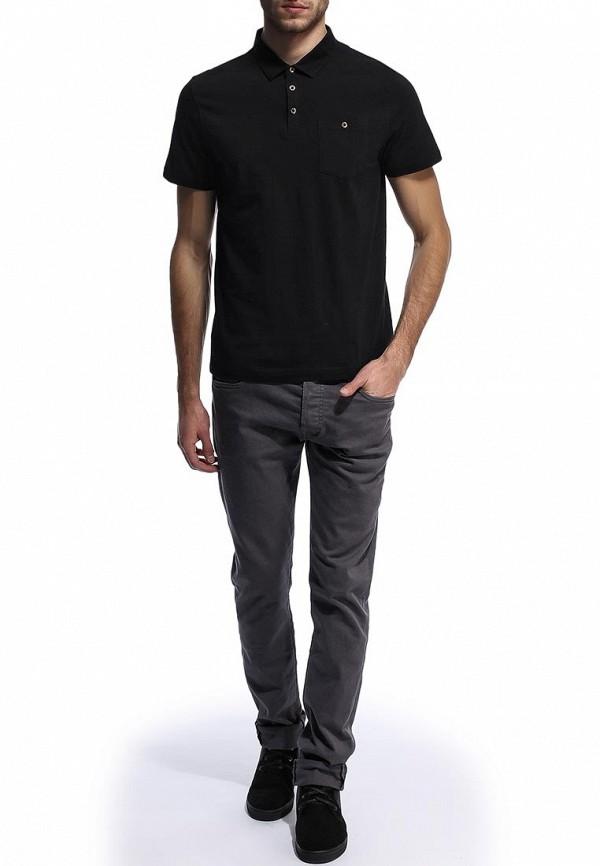 Мужские поло Burton Menswear London 45V11EBLK: изображение 3