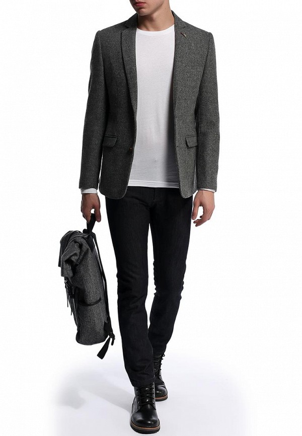 Пиджак Burton Menswear London 05J10FGRY: изображение 3