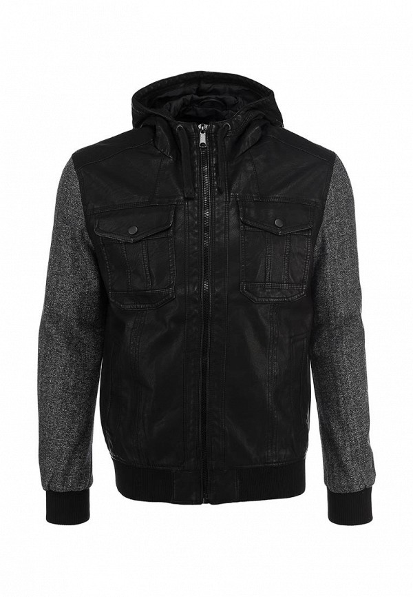 Кожаная куртка Burton Menswear London 06M01FBLK: изображение 1