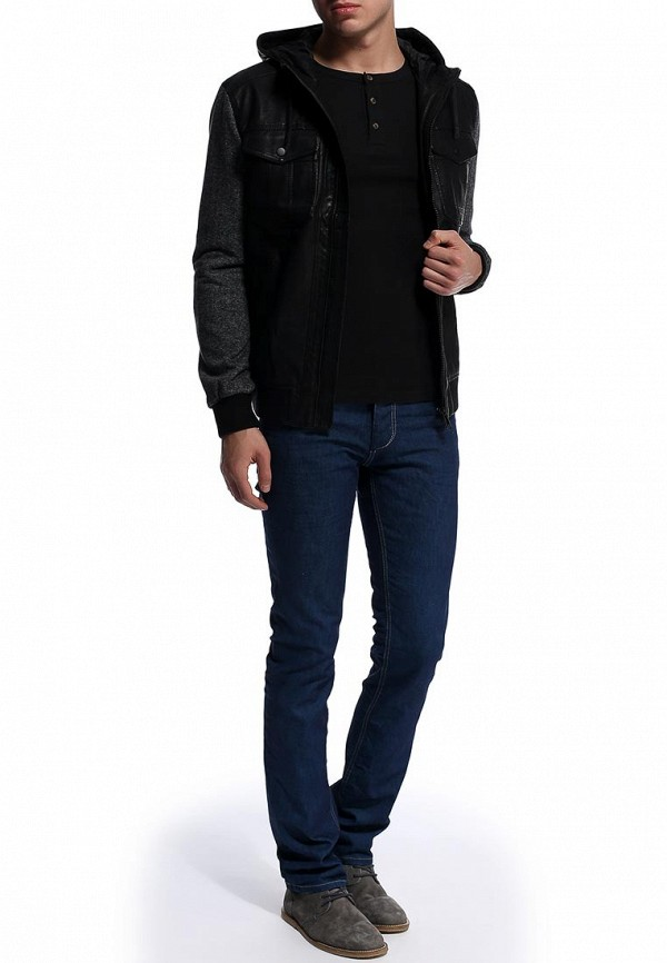 Кожаная куртка Burton Menswear London 06M01FBLK: изображение 2