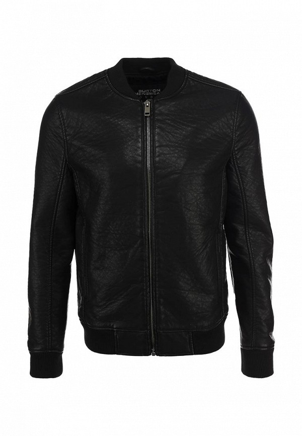 Кожаная куртка Burton Menswear London 06M04FBLK: изображение 1