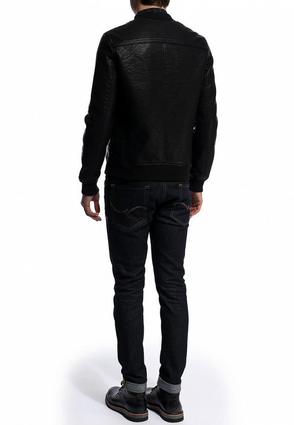 Кожаная куртка Burton Menswear London 06M04FBLK: изображение 4