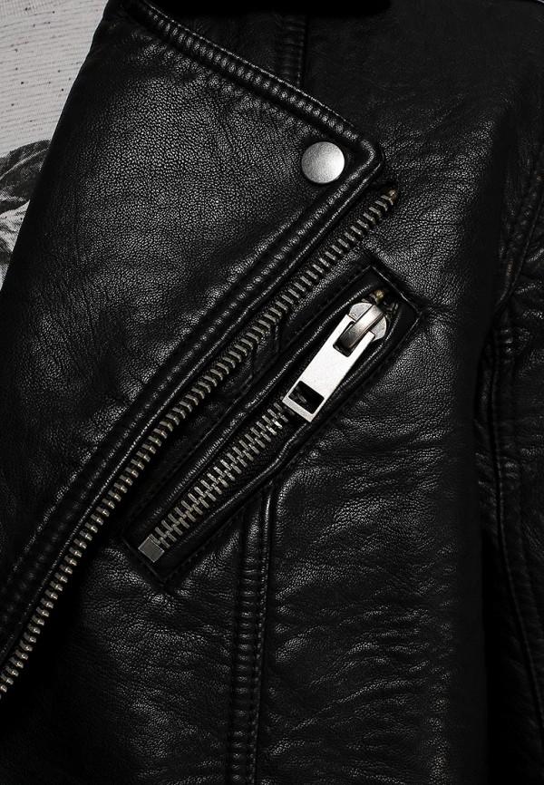 Кожаная куртка Burton Menswear London 06M05FBLK: изображение 2